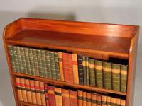 Edwardian Period Mahogany Open Bookcase (3 of 4)