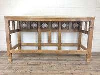 Victorian Pine Church Altar Table in Gothic Design (14 of 14)