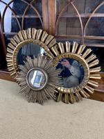 Trio of Spanish Giltwood Wall Mirrors (2 of 7)