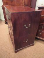 Small George III Period Military Secretaire Chest (5 of 9)
