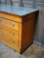 Figured French Commode/ Chest of Drawers (4 of 7)