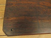 Small Industrial Antique Vono Cart Trolley Coffee Table with Bakelite Castors (3 of 17)
