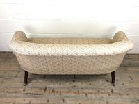 Victorian Three Piece Suite with Gold Floral Upholstery (11 of 26)