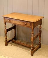 Light Oak Hall Table (8 of 11)