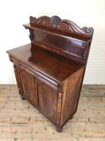 Antique 19th Century Mahogany Chiffonier Sideboard (9 of 12)