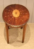 Low Inlaid Oval Table (8 of 9)