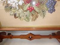 Large 19th Century Needlepoint Fire Screen (8 of 10)