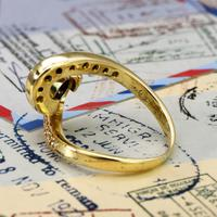 The Vintage Spiral Infinity Diamond Ring (5 of 5)