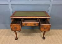 Queen Anne Style Burr Walnut Writing Table (6 of 12)