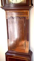 Fine English Longcase Clock Radcliff Elland 8-day Grandfather Clock with Moon Roller Dial (10 of 27)
