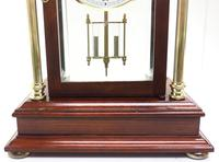 Howard Miller Signature Series Mantel Clock visible pendulum 4 Glass Mantle Clock (4 of 12)