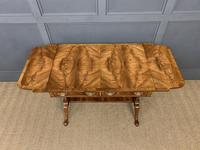 Good Burr Walnut Sofa Table c.1900 (16 of 19)