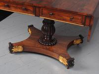 Antique Regency Rosewood Sofa Table (12 of 14)