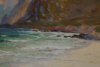 Cornish coastal landscape by H A Minton (3 of 6)