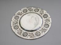 Victorian Arts & Crafts Hand Raised Silver Exhibition Dish by W G Connell, London, 1893 (6 of 10)