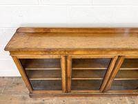 19th Century Glazed Walnut Bookcase (5 of 14)