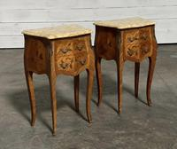 Quality Pair of French Marquetry Bedside Drawers (5 of 22)