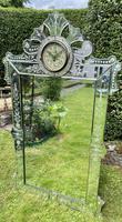 Venetian Mirror with Clock (6 of 6)