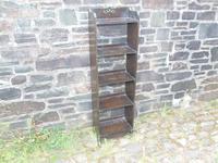 Arts & Crafts Oak Open Bookshelf (4 of 10)