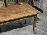 French Oak Farmhouse Kitchen Dining Table (10 of 18)