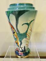 Carlton Ware River Fish Vase by Violet Elmer c.1930 (11 of 15)