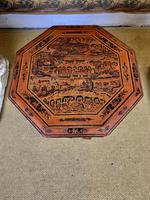 Antique Lacquered Eastern Table (2 of 5)