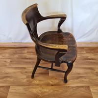 Oak Desk Chair (8 of 11)