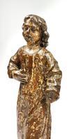 17th Century Carved Walnut Figure (3 of 11)