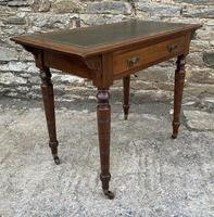 Antique Victorian Walnut Writing Table Desk (17 of 17)
