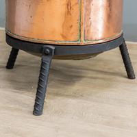 Victorian Copper Wood Bin (3 of 7)