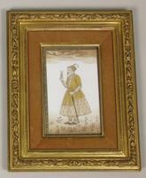 Good Pair of 19th Century Indian Paintings Aurangzeb & Dilras Banu Begum (10 of 11)