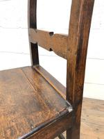 Pair of Country Bar Back Chairs (4 of 8)