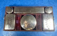 Georgian  Rosewood Brassbound Vanity Box (26 of 34)