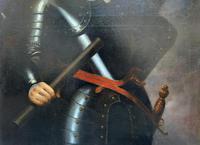 Huge Oil Portrait Painting of 17th Century General John Richmond Webb (7 of 16)