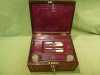 Unisex Rosewood Fitted Jewellery – Dressing Box. c1835 (7 of 12)