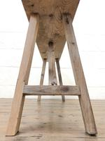 Pair of Antique Rustic Pine Benches (5 of 6)