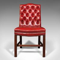 Set Of 10 Antique Gainsborough Chairs, English, Leather, Carver, Edwardian, 1910 (6 of 12)