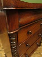 Antique Scottish Style Mahogany Chest of Drawers, Country House Chest (10 of 19)