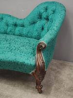 Victorian Mahogany Double Ended Sofa (6 of 9)