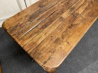 Rustic Oak Farmhouse Table & Bench Set (6 of 29)