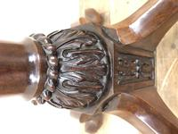 Antique 19th Century Mahogany Torchiere (6 of 7)