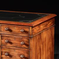 Fine Honduras Mahogany 19th Century Pedestal Desk (3 of 4)