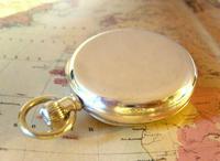 Antique Omega Labrador Pocket Watch 1912 15 Jewel 10ct Rose Gold Filled Case FWO (6 of 12)