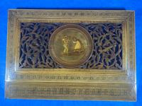 Victorian Italian Sorento Olivewood Book Stand with Micro Mosaic Inlay (18 of 23)
