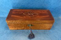 Victorian Burr Maple, Mahogany & Walnut Box (2 of 11)
