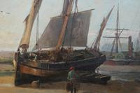 Boats in the harbour by James Webb (5 of 8)