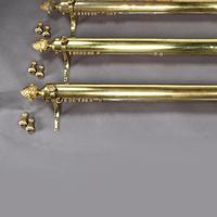 Set of Five Brass Curtain Rails removed from Downing Street (2 of 10)