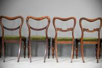 6 Harlequin Victorian Rosewood Dining Chairs (6 of 11)