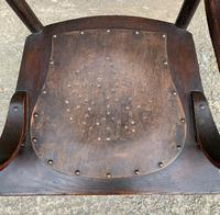 Antique American Armchair with Steamed Bentwood Arms (3 of 14)