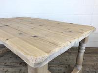 Vintage Antique Pine Farmhouse Kitchen Table (10 of 18)